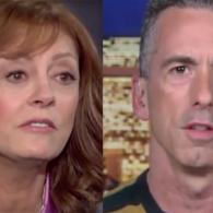 Dan Savage Trolls Susan Sarandon Over Suggestion She'd Vote Trump Over Clinton: WATCH