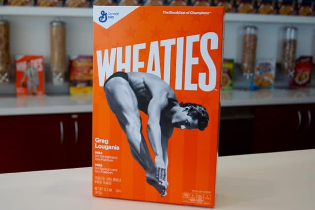 Greg Louganis Wheaties