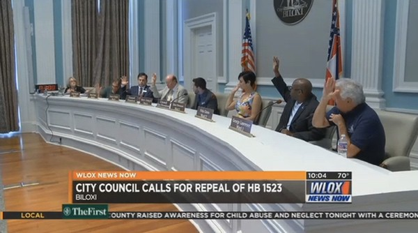 Biloxi, Mississippi Passes Resolution Calling for Repeal of