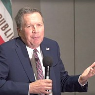 John Kasich Confronted by San Francisco Voter: 'Are People Born Gay?'