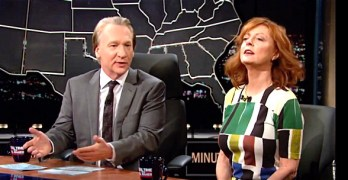 Bill Maher Susan Sarandon