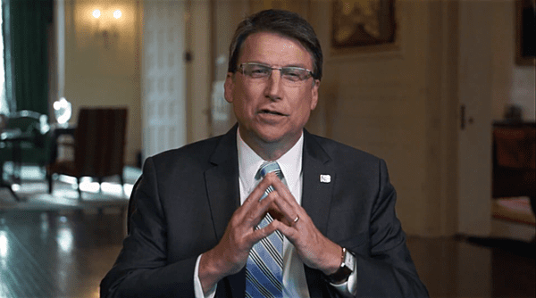 Pat McCrory hb2 civil rights act