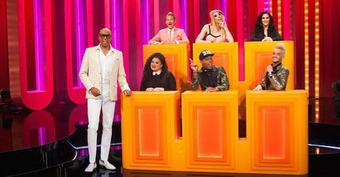 RuPaul and panel on Gay For Play