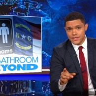 The Daily Show transgender North Carolina