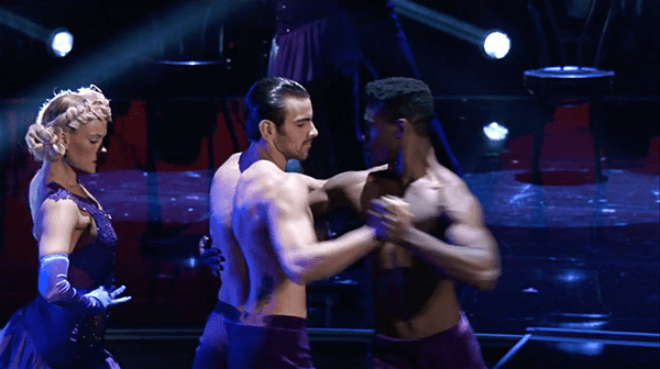 Dancing with the stars same sex