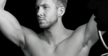 calvin harris shirtless
