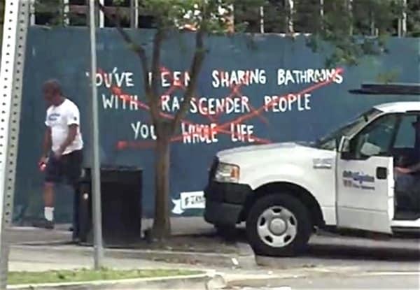 LGBT mural