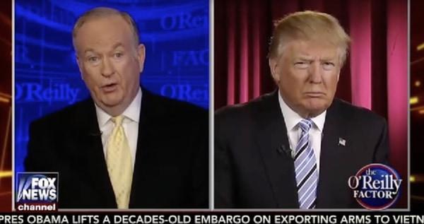 Bill O'Reilly Donald Trump trans
