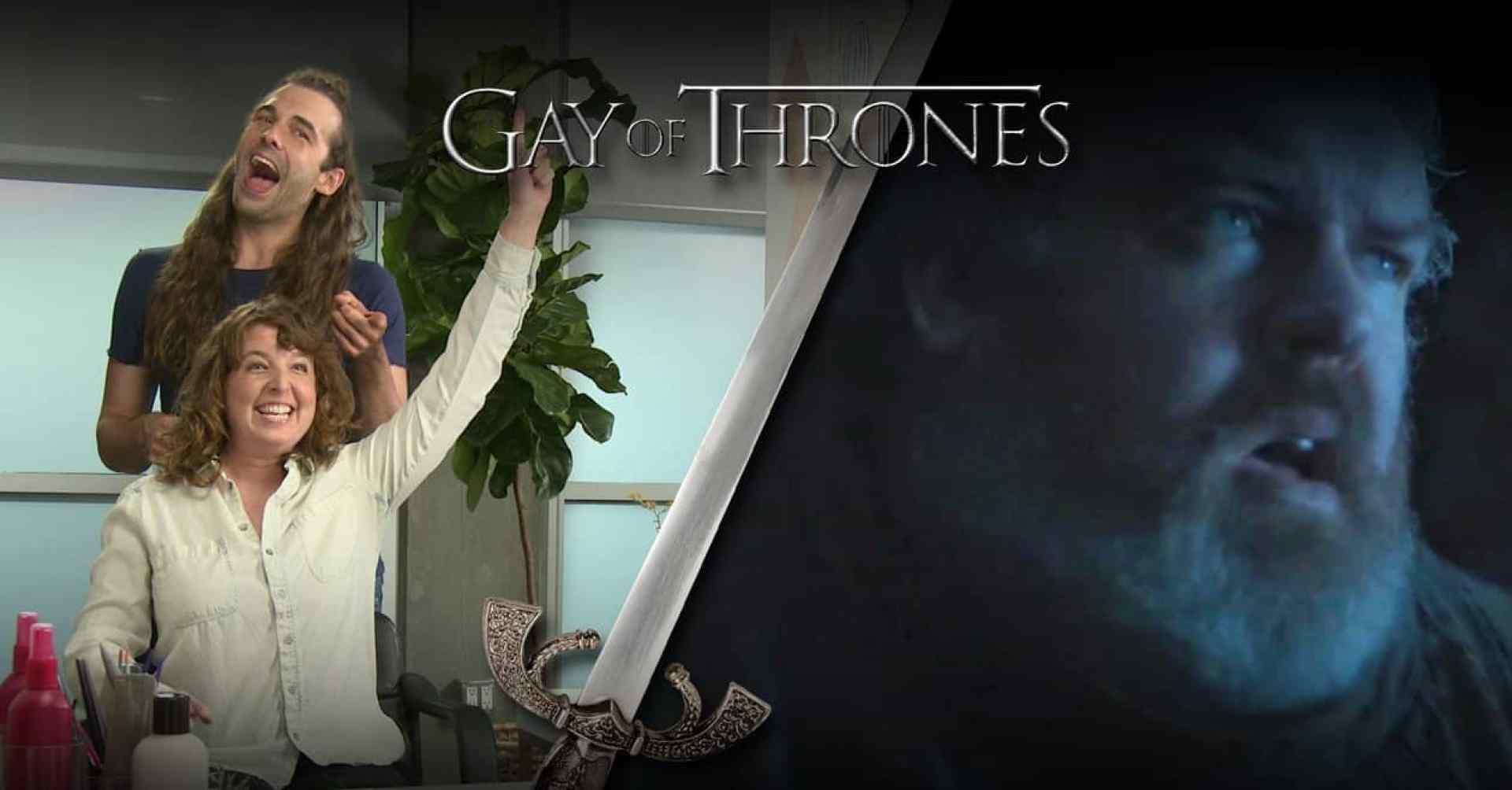 gay of thrones hodor