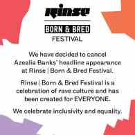 UK Music Festival Rinse FM Drops Azealia Banks: 'We Celebrate Inclusivity and Equality'