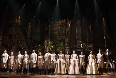 The cast of 'Hamilton'