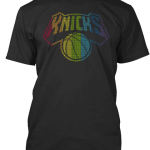 NBA Pride T-Shirts 2016 Knicks