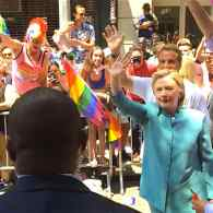 Hillary Clinton Makes Historic Surprise Appearance in NYC Pride Parade: WATCH