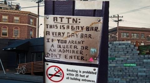 first gay bar