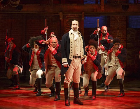 Lin-Manuel Miranda and the cast of 'Hamilton'