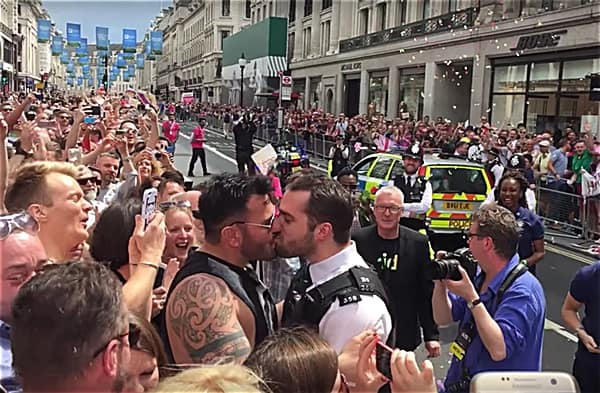 gay london police officer