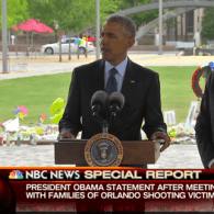 President Obama Speaks After Meeting Orlando Survivors, Victims' Families – WATCH
