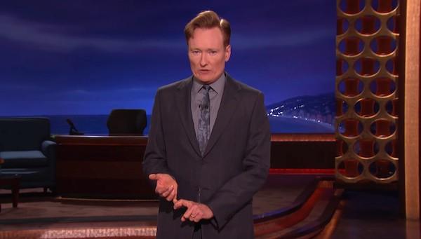 Conan O'Brien assault weapons