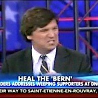 Tucker Carlson Freaks Out About 'Disgusting' Gender Neutral Bathrooms at the DNC: WATCH