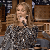 Céline Dion Plays 'Wheel of Musical Impressions' and Takes on Cher, Rihanna, and Sia – WATCH