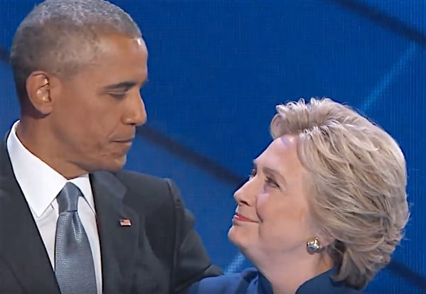 Barack Obama Hillary Clinton