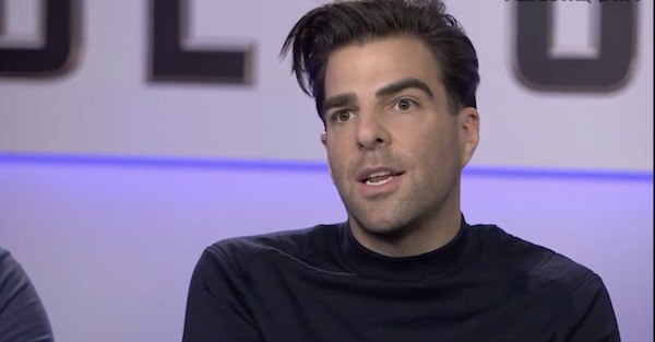 Zachary Quinto Sulu gay