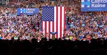 Clinton introduces Tim Kaine