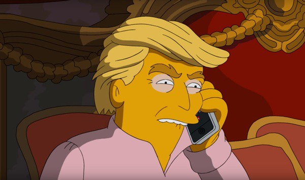 Simpsons Trump