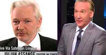 Julian Assange Bill Maher
