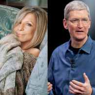 barbra streisand tim cook