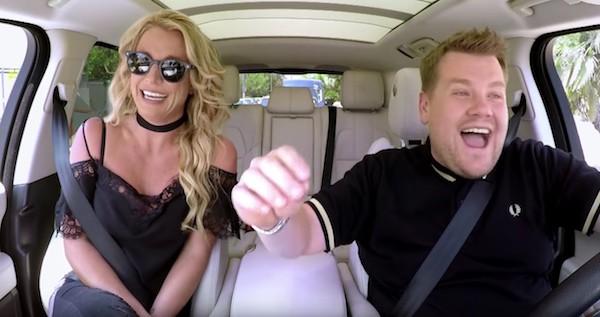 Britney Spears Carpool