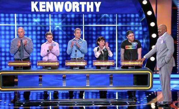 Gus Kenworthy family