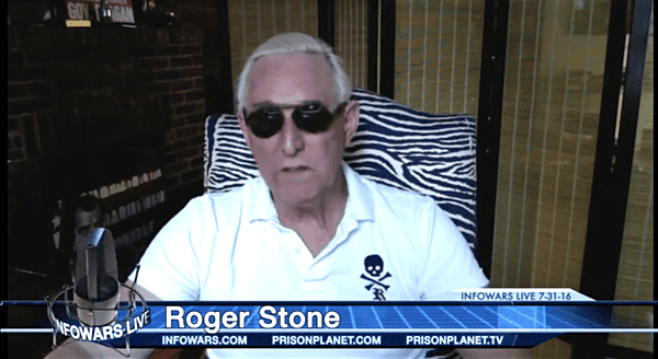 Roger Stone Invokes His 5th Amendment