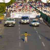 12-Year-Old Mexican Boy Attempts to Block Thousands of Anti-Gay Protesters