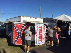 Bloomsburg Fair confederate flag
