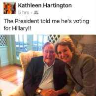 Kathleen Hartington Kennedy Townsend George H. W. Bush