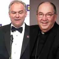 Tim Kaine's Bishop: The Catholic Church Isn't Going to Change Its Position on Same-Sex Marriage
