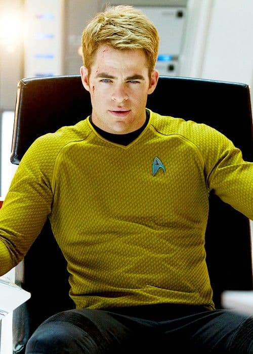 Chris Pine gay Sulu