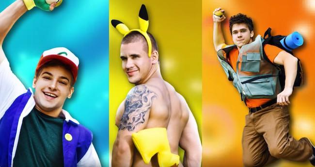 Pokemon go gay film