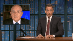 seth meyers giuliani