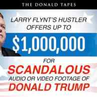 Larry Flynt Offers $1 Million for Scandalous Audio or Video of Donald Trump
