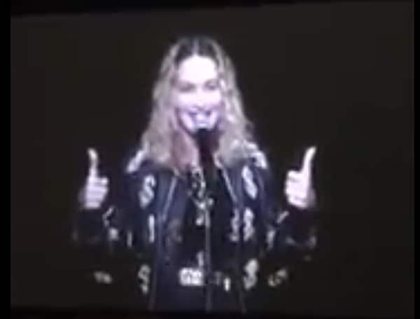 Madonna hillary