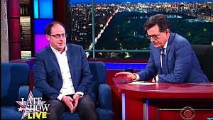Nate Silver Stephen Colbert