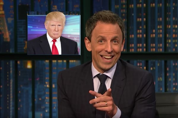 Donald Trump taxes Seth Meyers