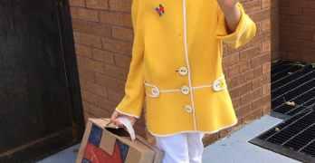 boy Hillary Clinton costume