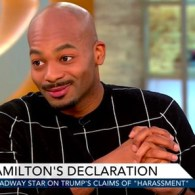 'Hamilton' Cast Member Brandon Dixon: Cast Has 'Nothing to Apologize For' – WATCH