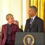 Ellen Degeneres medal