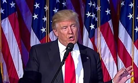 flag Trump