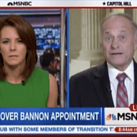 MNSBC Anchor to Rep. Steve King: 'You OK with Steve Bannon Saying Liberal Dykes?' – WATCH
