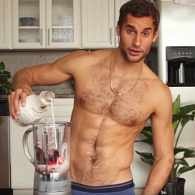 Ellen Gets Cooking with Smoking Hot Naked Chef Franco Noriega: WATCH